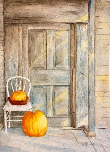 pumpkin and blue door.jpg
