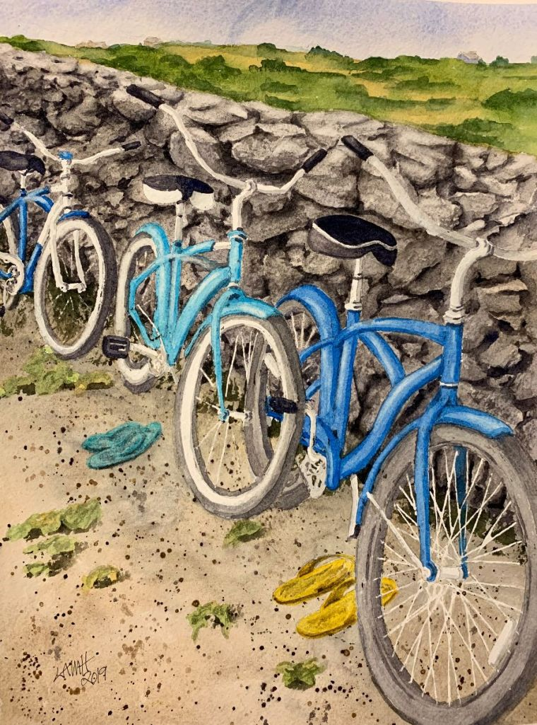 Blue bicycles painting.jpg