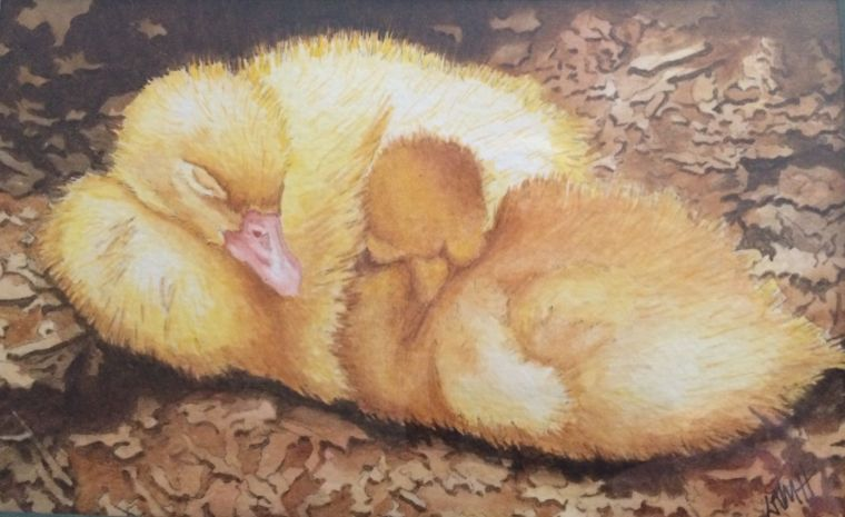 Ducklings painting.jpg
