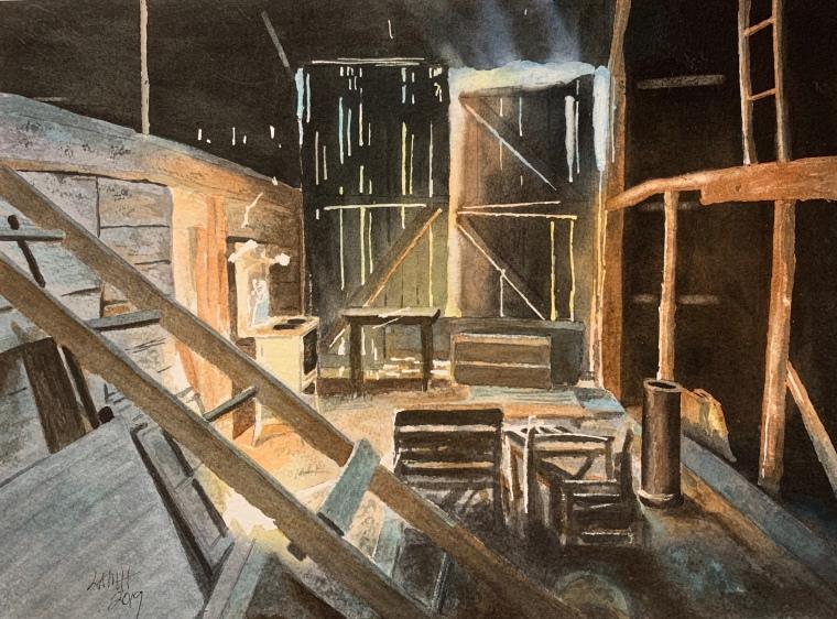 Tristan's Barn Interior