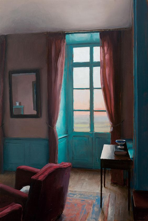 Turquoise window-kenny-harris.com